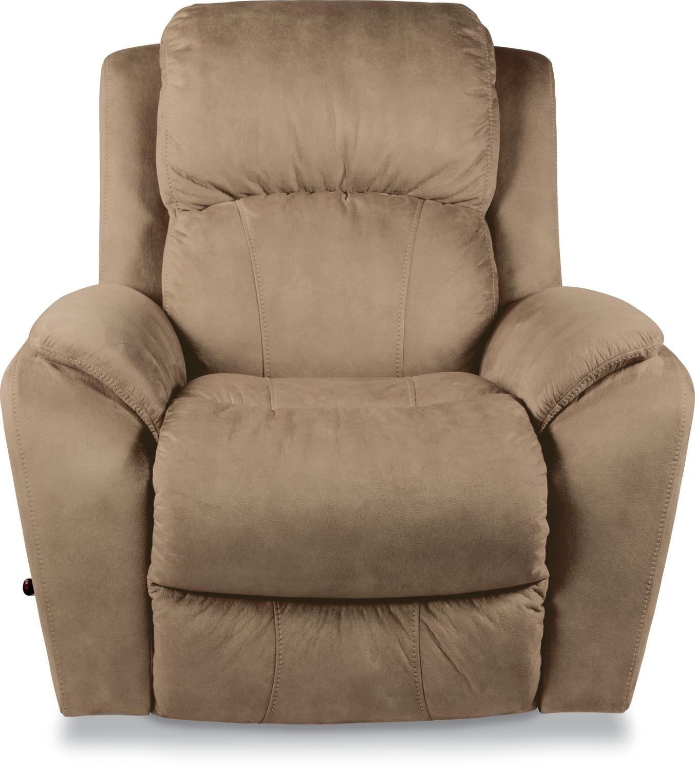 Recliner Pillow Barrett Casual Reclina Way Wall Recliner With Pillow Arms By La Z Boy At Reid S Furniture